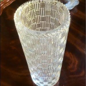 Tiffany & Co. Crystal Vase